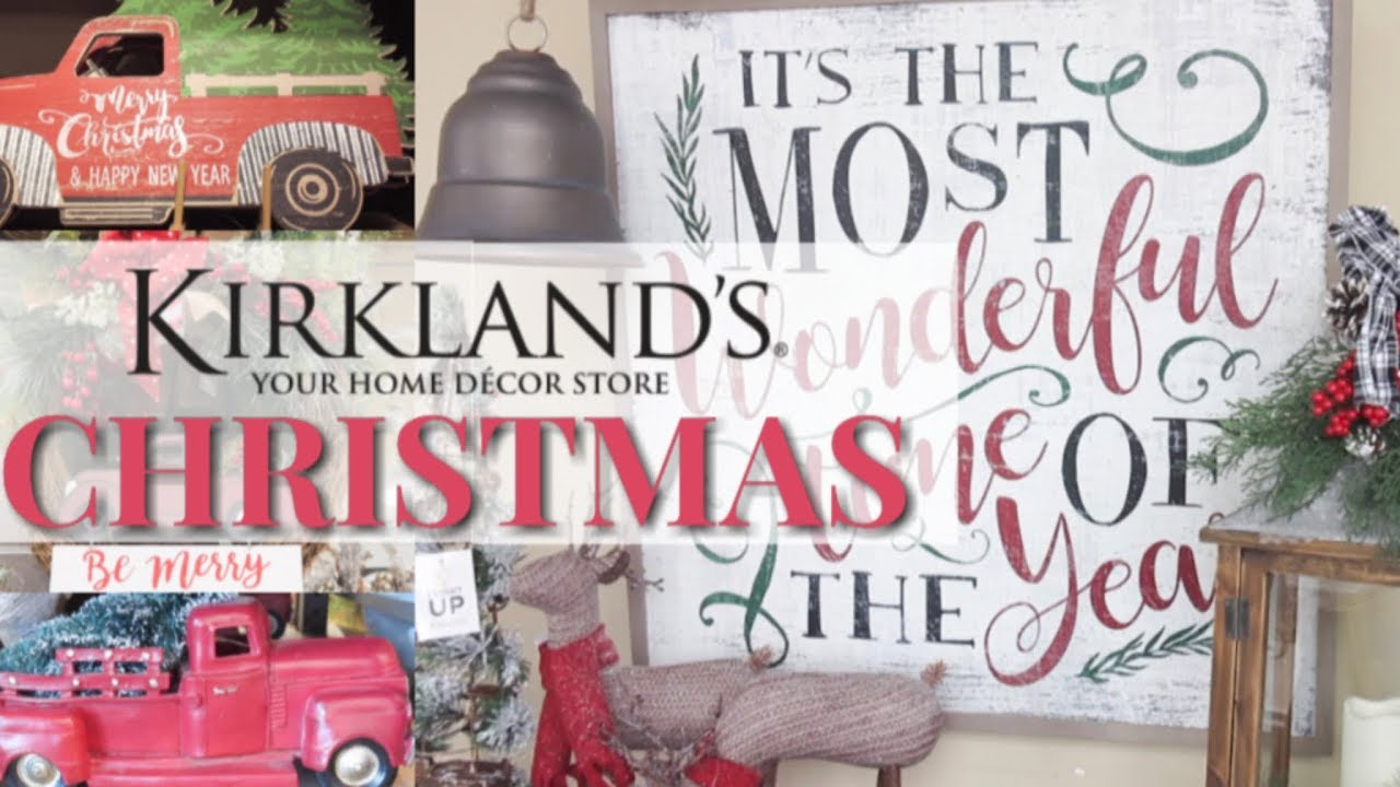 Kirkland's Christmas 2018 Shop With Me | Christmas Trends ...