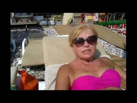 VLOG:  КЕМЕР -   Болтаю,загораю, купаюсь Пляж отеля Golden Lotus.