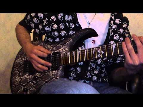 (FULL HD-1080p)  Guardians - Amygdala (Instrumental (cover guitar) )