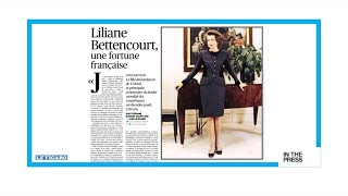 A French fortune: Liliane Bettencourt's name was synonymous with 'scandal'