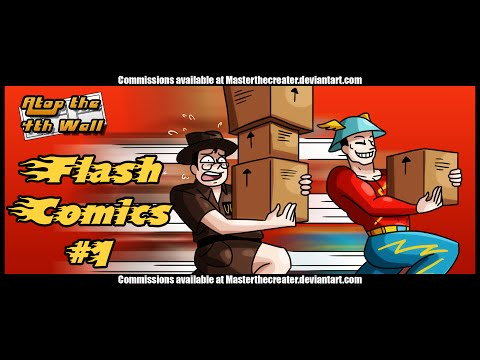 Flash Comics #1 - Atop the Fourth Wall