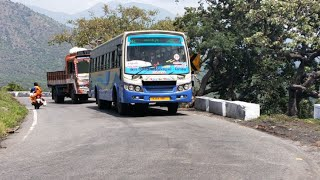 First Time New Tnstc Bus In Dhimbam Blue Bus