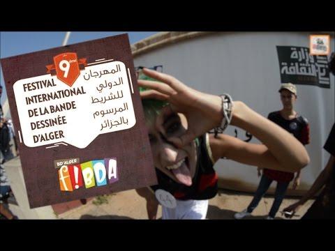 A tour in FIBDA 9th edition Algeria | 8 oct