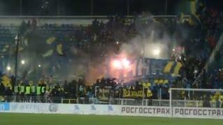 Файер-шоу ростовских фанатов Ростов - Зенит - 0:0