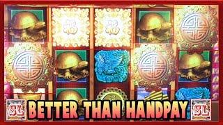 ** Jackpot Alert ** Better than Handpay ** Super Re-trigger ** Slot Lover