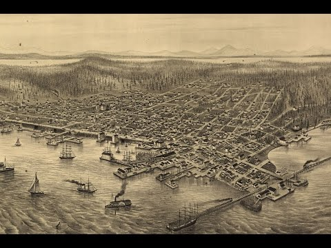 Seattle Washigton History and Cartography (1878)