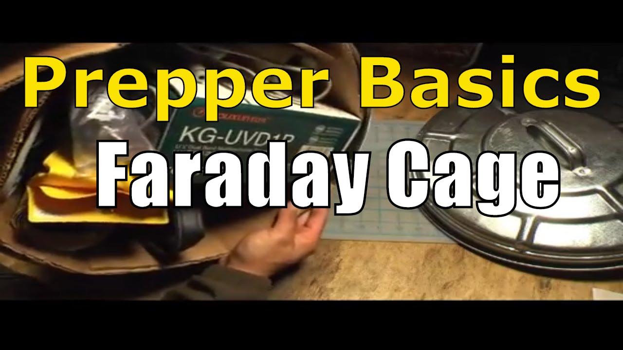 Prepper Basics: Faraday Cage