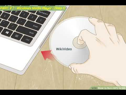 How to Burn MP3 to CD - WikiVideo