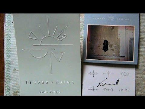 "Unboxing Laura Marling ""Semper Femina"" signed CD & Ltd Edition Numbered Print 57/95"