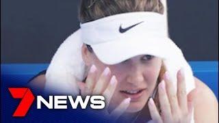 Eugenie Bouchard said she felt 'unwell' playing in the Melbourne bushfire smoke   7NEWS