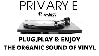 Project Primary E (First, Firm Step in to the World Of Vinyl).