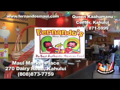 Hawaii Master Chefs at Fernando's Mexican Grill - Maui Hawaii