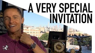 You're Invited! - A Quick Special Announcement For The Good Gentry - August 1st 2018 NYC