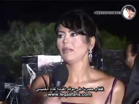 لقاء الخميسي في حفل جوائز الإعلام العربي