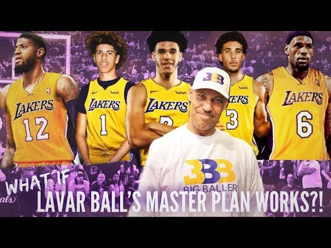 What if LaVar Ball's Masterplan works?! | LeBron, PG13, and Ball Brothers to LA?!