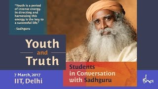 Youth & Truth - IIT Students in Conversation with Sadhguru thumbnail