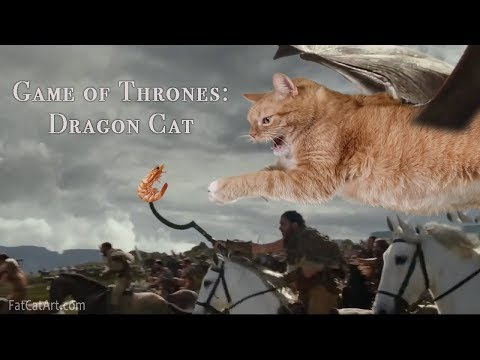 Game of Thrones: Dragon Cat's attack!