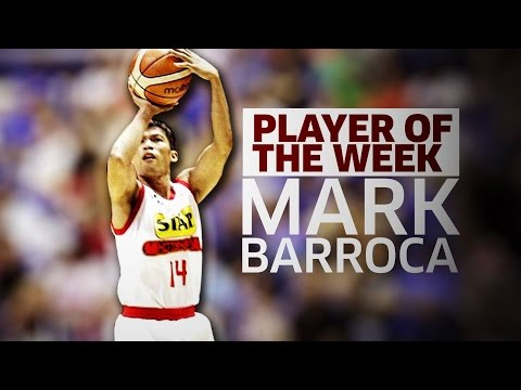 Player of the Week: Mark Barroca | Commissioner's Cup 2017