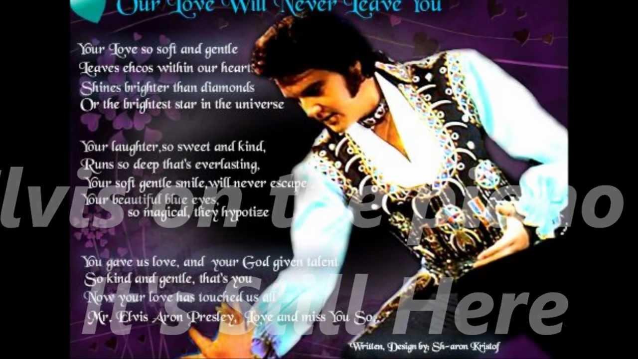Elvis Presley- It's Still Here- with Lyrics-Beautiful song