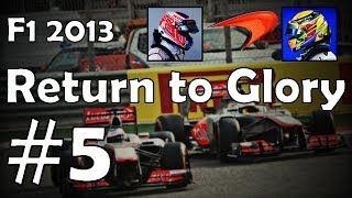 F1 Return to Glory #5 (Co-Op F1 2013 Career)
