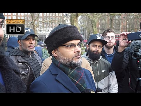 P1 - You're A Liar?! Hashim vs Christian | Speakers Corner | Hyde Park
