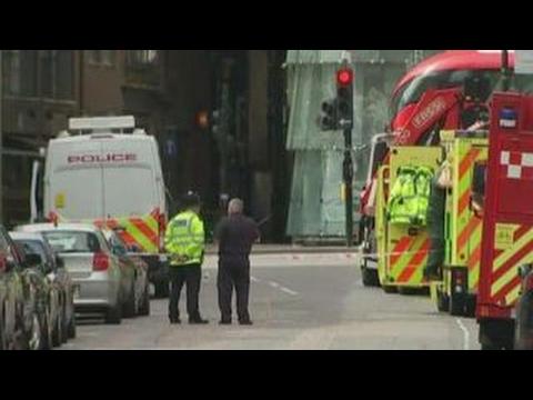 Counterterrorism raids take place throughout London