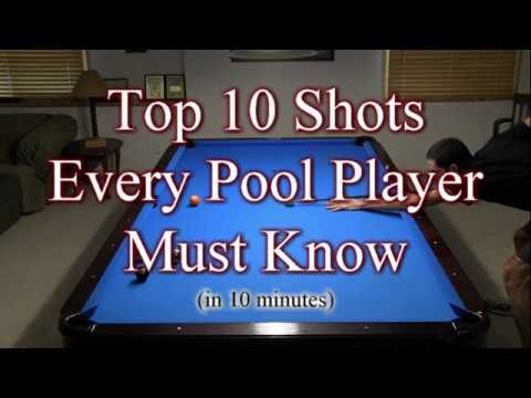 Top 10 Pool Shots Every Player Must Know!!!
