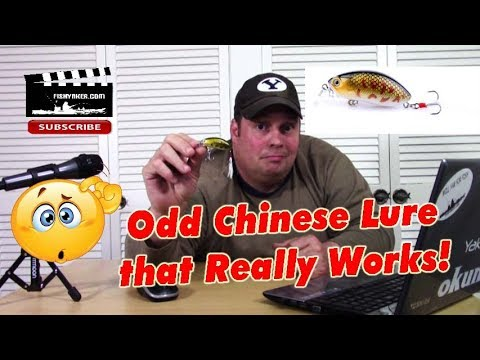 Odd Chinese Crankbait Fishing Lure, That WORKS! - Fishing Tackle Tips