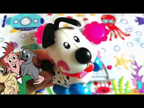 Bingo Dog Songs Collection | Learn, Teach Colours to Toddlers | Kids Steps Preschool Nursery Rhymes