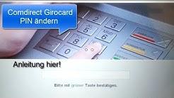 Comdirect Girocard PIN ändern