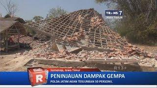 Peninjauan Dampak Gempa di Jawa Timur