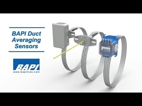 BAPI Duct Averaging Temperature Sensor Overview