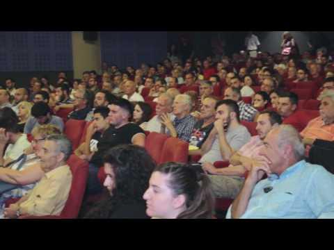 Ερωτήσεις του κοινού στην ομιλία του Γιάνη Βαρουφάκη στο Ηράκλειο 14/6/17