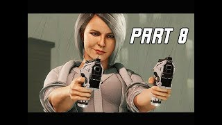 MARVEL'S SPIDER-MAN Walkthrough Part 8 - SILVER SABLE (PS4 Pro 4K Let's PLay)