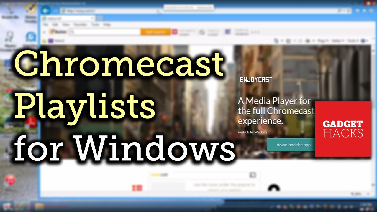 chromecast app download windows 10