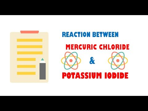 Mercuric Chloride and Potassium Iodide ( Reaction )
