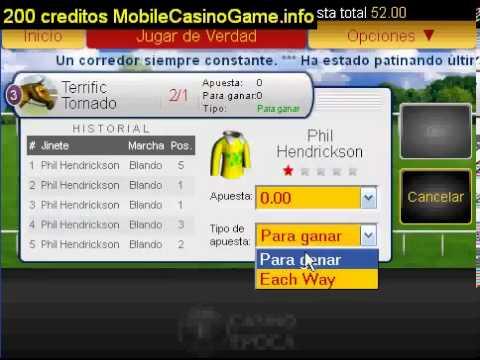 Royal Derby Carrera Virtual 200 creditos GRATIS a Casino Epoca1918