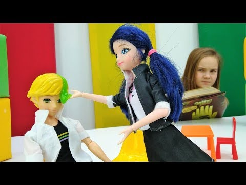 Видео для девочек - Маринетт на свидании с Эдрианом