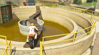 Bike Stunts Parkour Race (GTA 5 Funny Moments)(GTA 5 Funny moments & GTA 5 Online Games are here! In today's GTA 5 games we perform GTA 5 Online stunts in GTA 5! If you want to see more of us then ..., 2014-11-26T20:00:05.000Z)