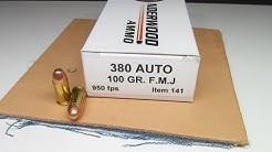Underwood Ammo 380 Auto FMJ Heavy Clothing and Gel Test