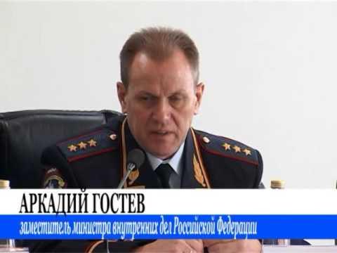 Личному составу МВД РА представлен новый министр Павел Гаврилин (2016 10 26 Панорама Недели)