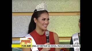 Bb.Pilipinas 2018 winners on UkG(UMAGANG K@Y GANDA) (Ano ang kanilang preparasyon at date ng laban?)