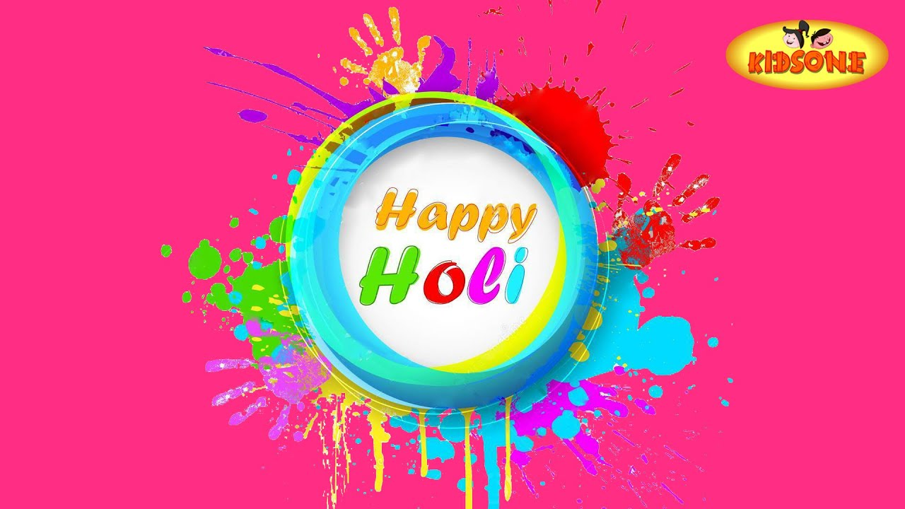 Happy holi 2015 animated greeting cards kidsone youtube m4hsunfo