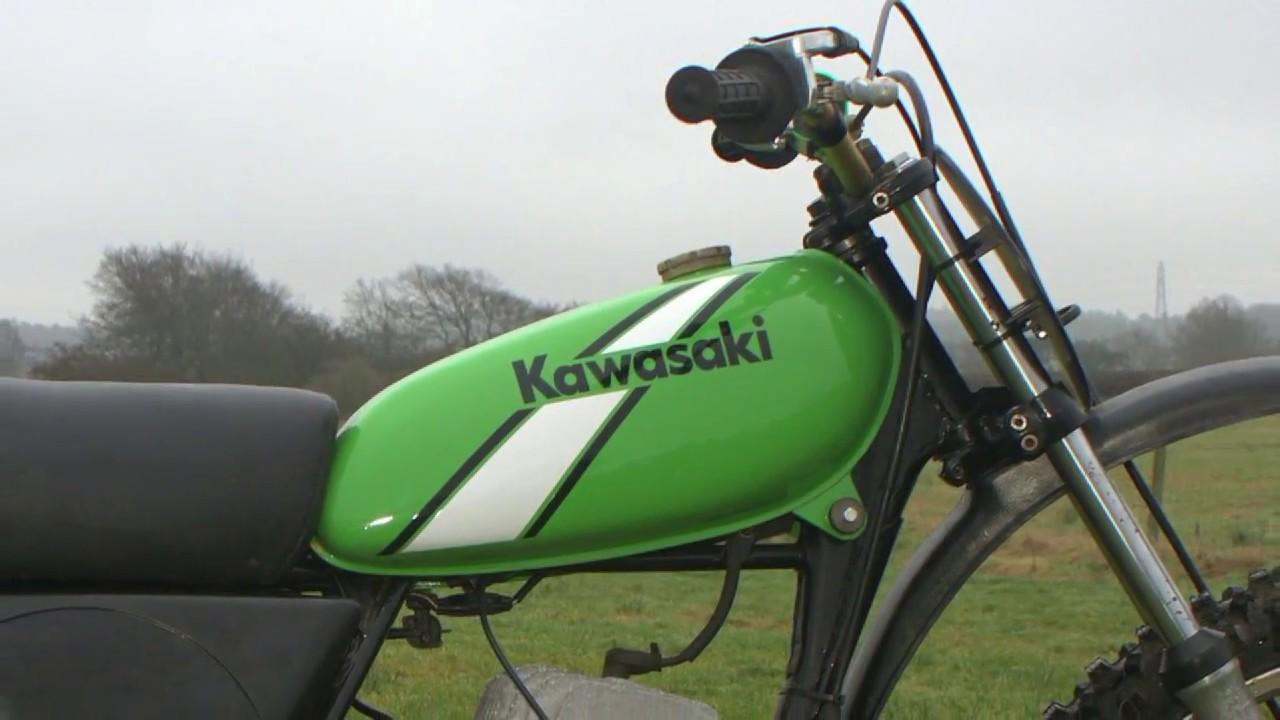 Classic Dirt Bikes 1974 Kx 125 Kawasaki