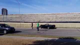 Corvette crash at Cars and Coffee Dallas 10-03-15