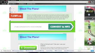 how to download a song using youtube and a online converter .m4v
