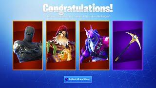 *NEW* SEASON 8 FREE SKINS CHALLENGES! (Fortnite Free Rewards)