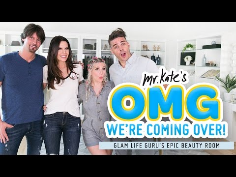 Epic Beauty Room Makeover for Glam Life Guru! | Tati x Mr. Kate | OMG We're Coming Over thumbnail