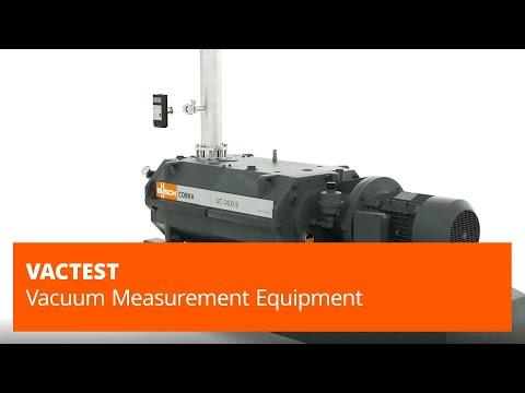 VacTest Series Vacuum Measurement Equipment – Busch Vacuum Pumps And Systems