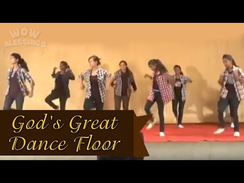 'God's Great Dance Floor By -Chris Tomlin' Dance VIDEO Choreography